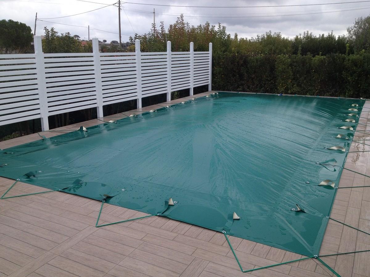 Teli di copertura invernali per piscine for Teli per piscine