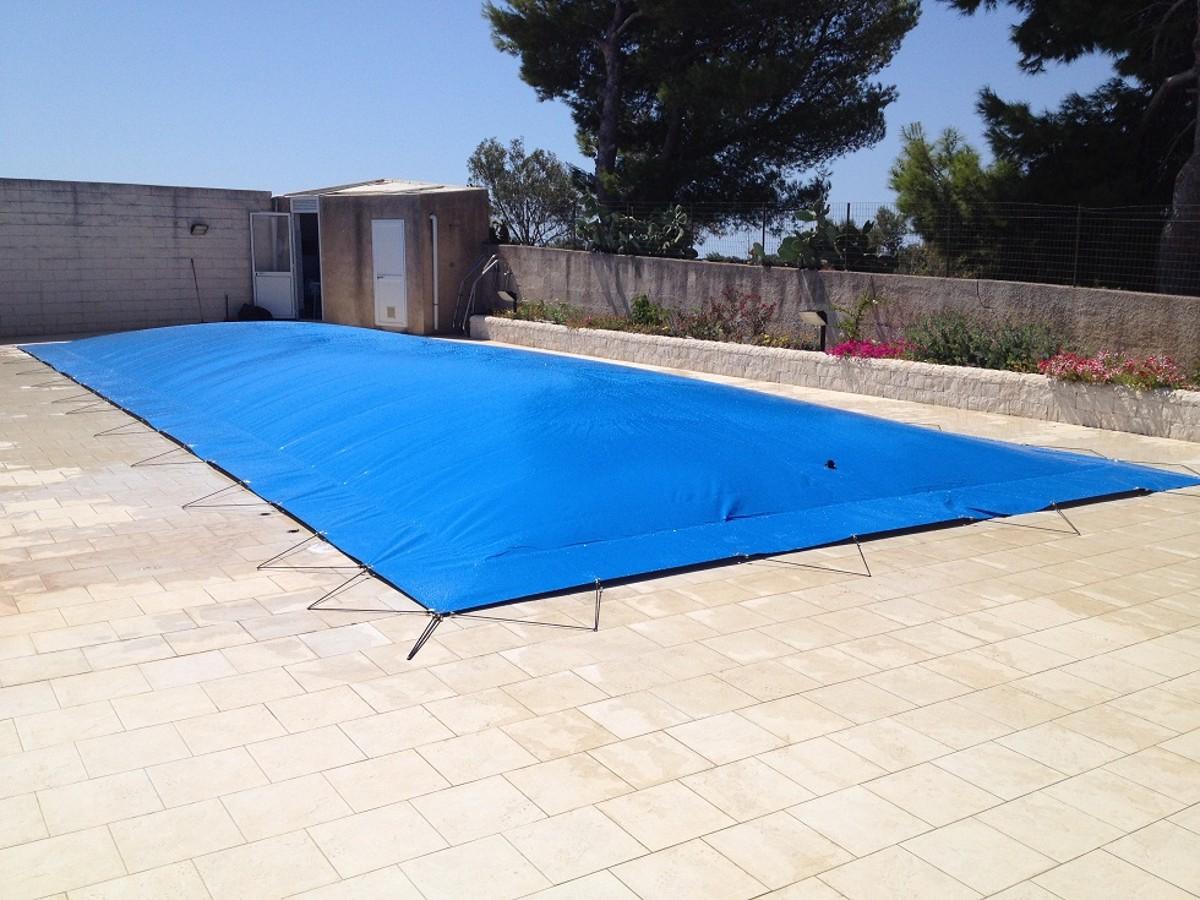Teli di copertura invernali per piscine for Teli per piscine interrate