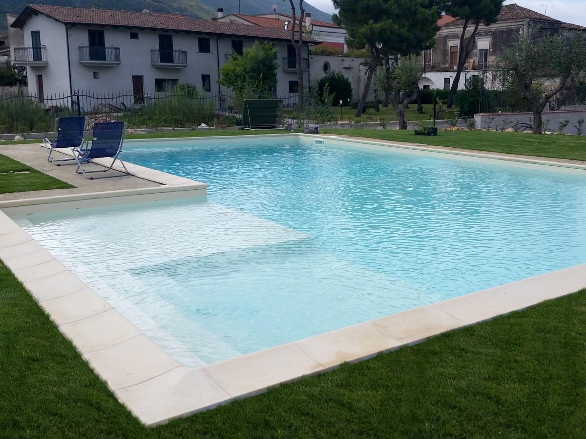 Piscine classiche interrate di forma libera o rettangolare con skimmer - Foto di piscine ...