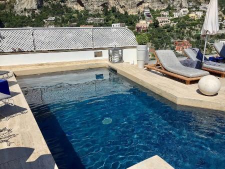 piscina hotel positano