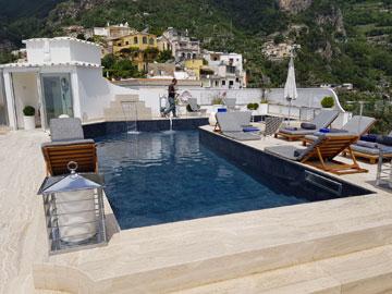 piscina hotel a positano