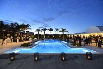 piscina scenografica
