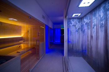 sauna e doccia