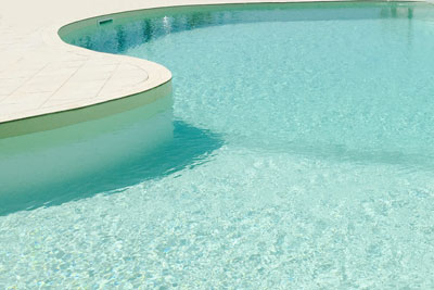 particolare di piscina