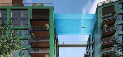 A Londra la prima piscina sospesa nel vuoto