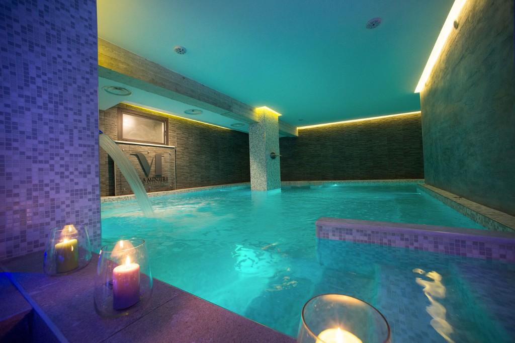 Realizzazione area wellness in Resort